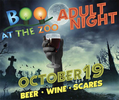 Trick-or-Treat at Little Rock Zoo's Adult Night on Friday