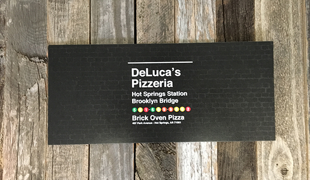 Contest: Win a Gift Certificate to DeLuca's Pizzeria!