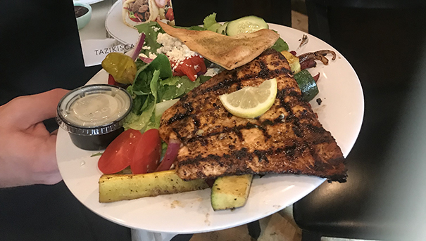 Taziki's Mediterranean Cafe is a Favorite for Lunch or Dinner