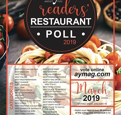 Voting Opens for the 2019 AY Readers' Restaurant Poll