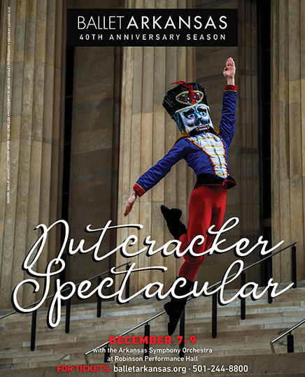 Ballet Arkansas Presents 40th Anniversary Nutcracker Spectacular