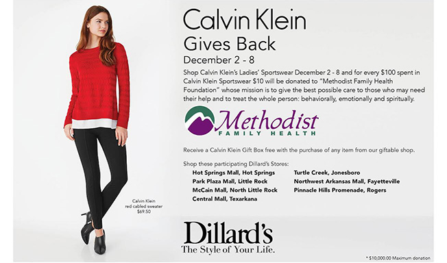 Go Shopping at Dillard's to Support a Good Cause