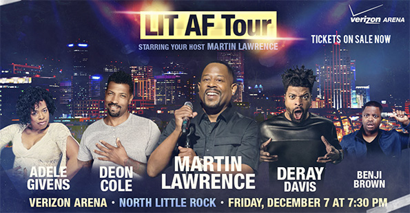 Martin Lawrence Coming to Verizon Arena for Comedy Show