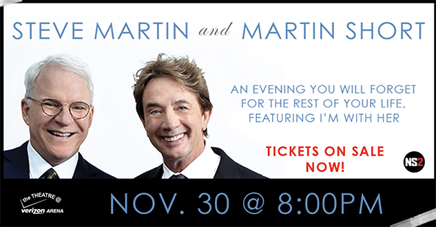 Steve Martin and Martin Short Bring their Comedic Talents to Arkansas