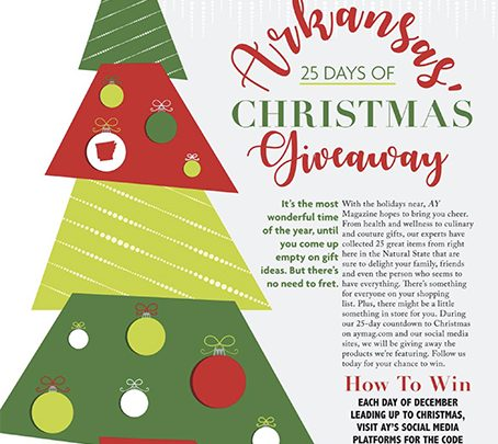 Arkansas' 25 Days of Christmas Giveaway and Holiday Gift Guide