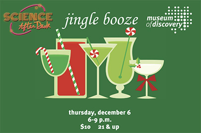 Ring in the Holidays with Science After Dark's Jingle Booze!