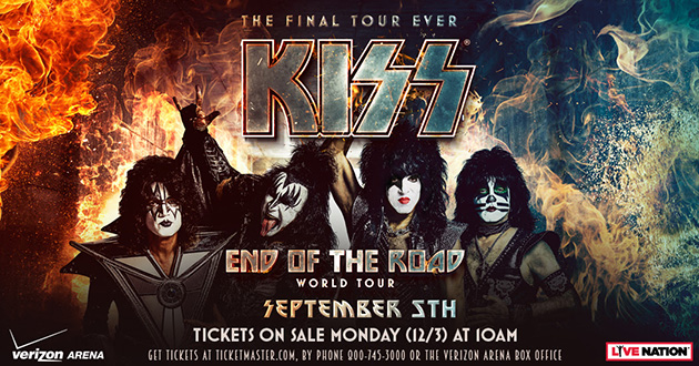 Tickets Available Now for the Arkansas Stop of KISS' Final Tour