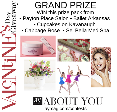 And the Valentine's Day Giveaway Grand Prize Winner Is...