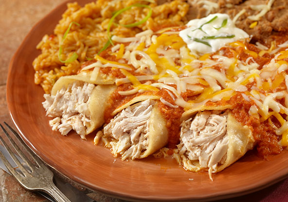 Recipe Monday: Creamy Chicken Enchiladas