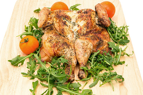Recipe Monday: Flavorful Spatchcock Roasted Chicken