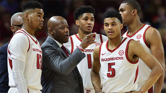 Razorbacks Head Basketball Coach Mike Anderson Fired