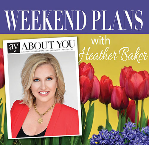 Weekend Plans: April Showers Can't Stop The Fun