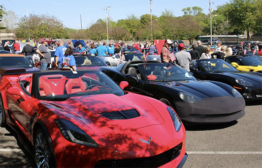 Hot Springs Corvette Weekend Revs Up This Weekend